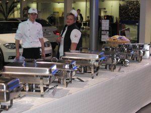 Catering von Damm Menüs