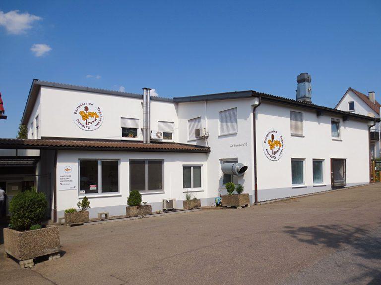 Foto der Betriebsstätte von Damm Menüs GmbH