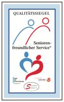 Qualitätssiegel Seniorenfreundlicher Service